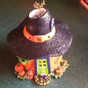 PARTYLITE WITCH HOUSE TEALIGHT
